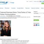 TPC Featured on SCORE Chicago's Web Site